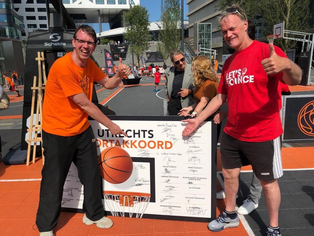 Ondertekening Utrechts Sportakkoord